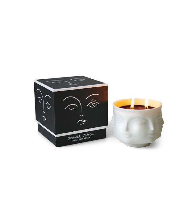 Jonathan Adler Muse Noir Ceramic Candle