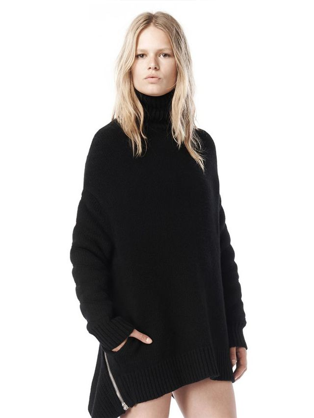 Alexander Wang Fall 11 Quilted Sleeve Sweater