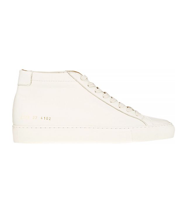 Common Projects Leather Original Achilles Mid-Top Sneakers