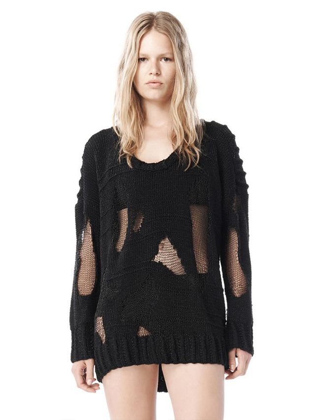 Alexander Wang Spring 09 Oversized Marled Pullover