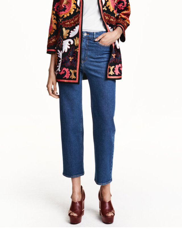 H&M Cropped High Jeans