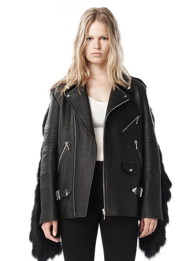 Alexander Wang Fall 09 Moto Leather Jacket