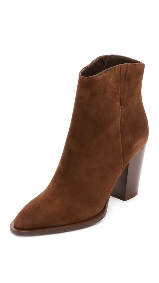 Vince Erving Suede Booties