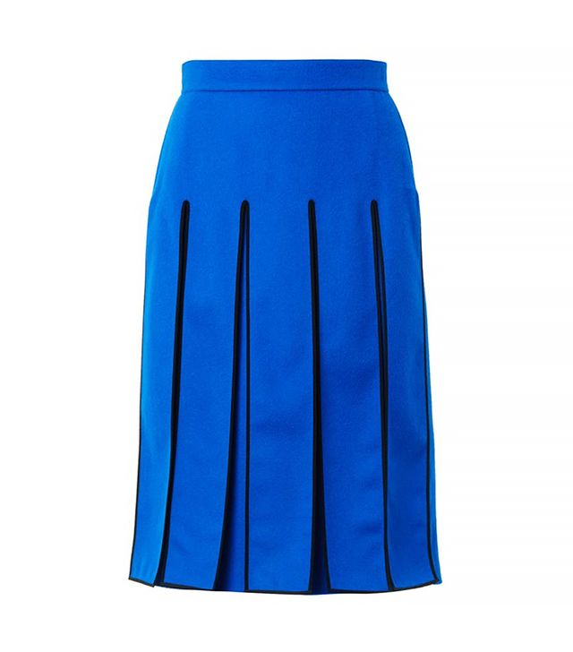 Kenzo Split-Panel Knee-Length Skirt