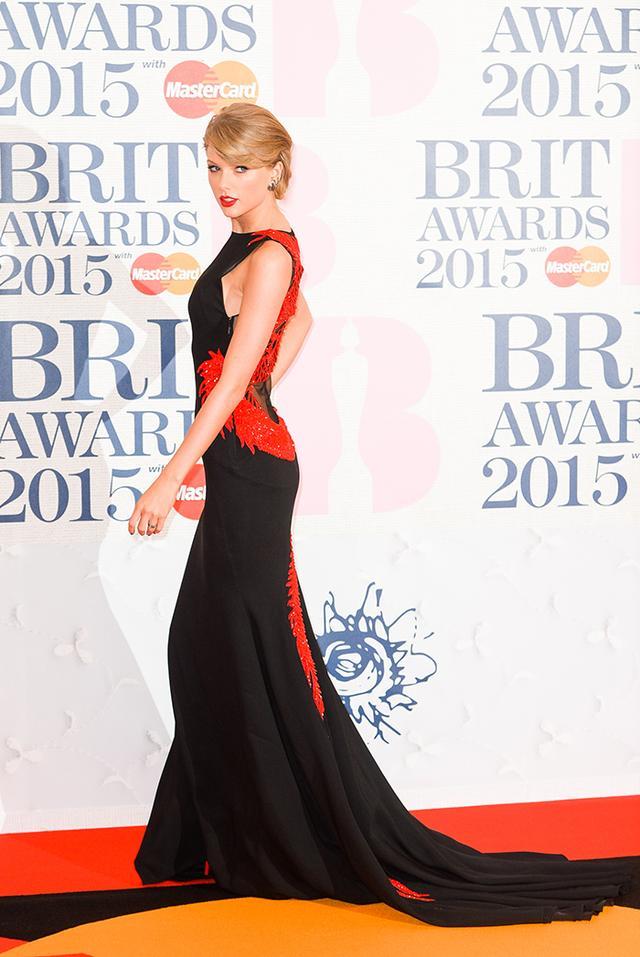 On Swift: Roberto Cavalli Atelier dress.