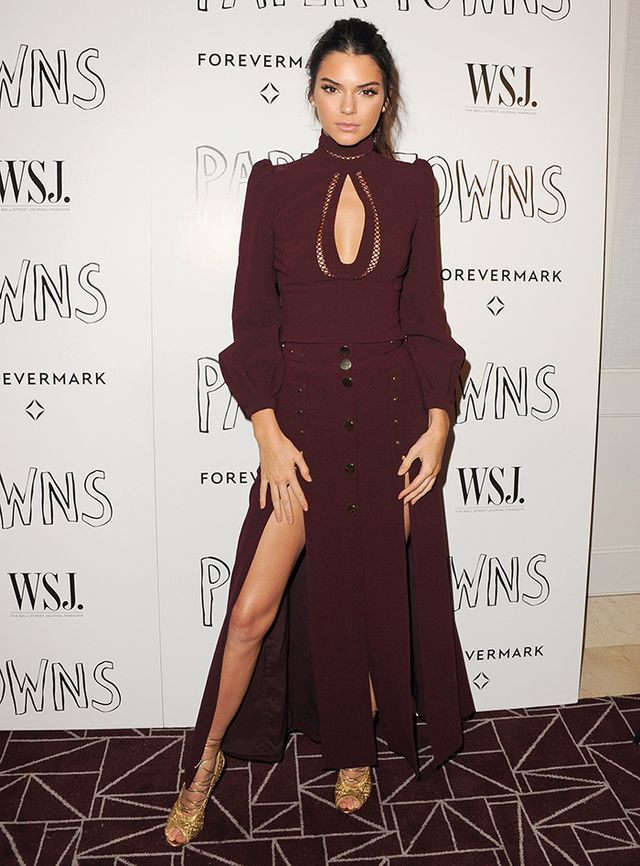 Kendall Jenner—One Leg Pivoted Out
