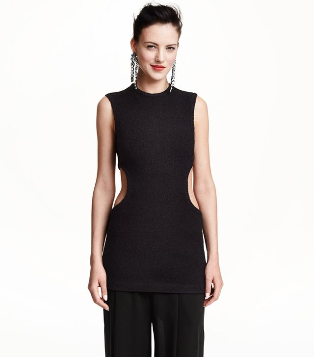 H&M Cut-Out Sleeveless Top
