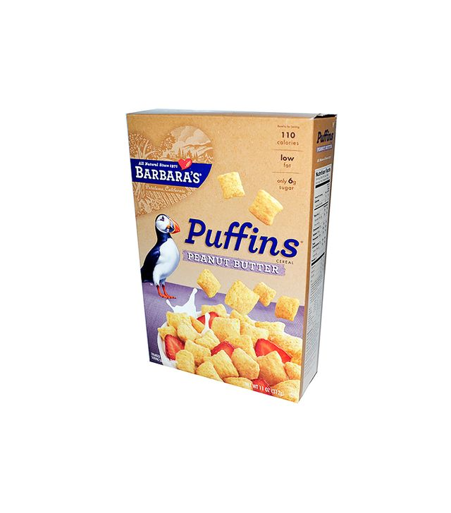 Barbara's Bakery Non-GMO Peanut Butter Puffins Cereal