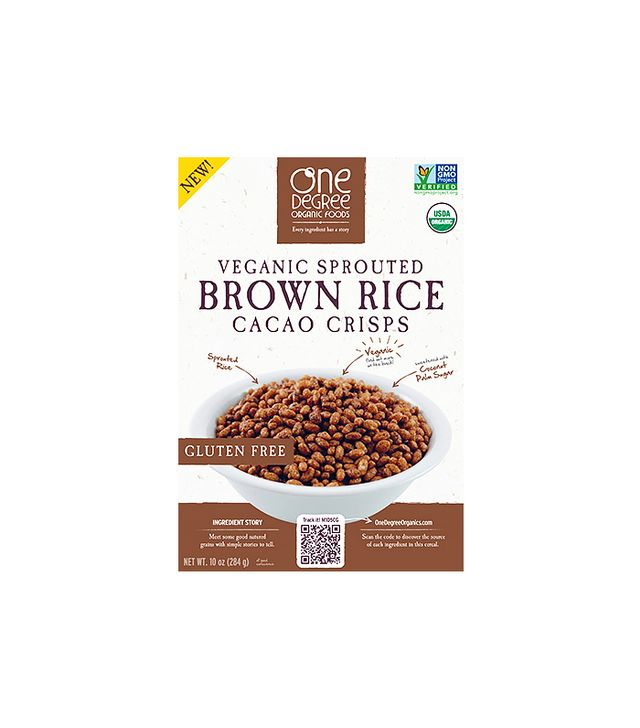One Degree Organic Sprouted Brown Rice Crisps in Cacao