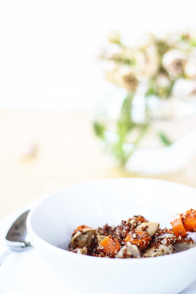 Chicken Sausage Quinoa Pilaf