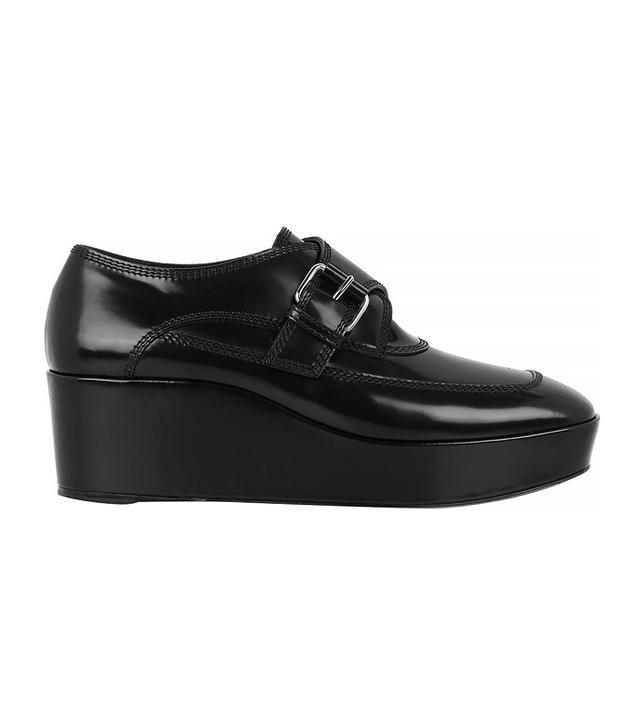 Balenciaga Monk-Strap Platform Loafers