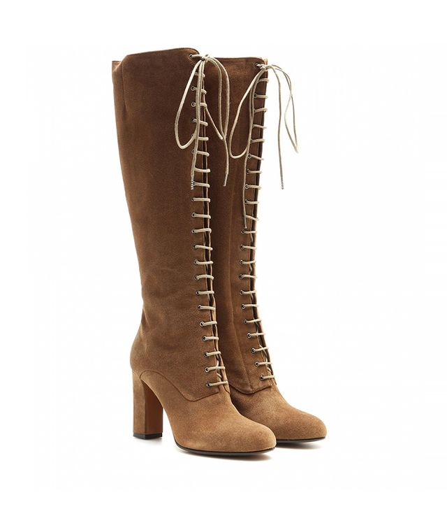 Etro Suede Lace-Up Boots