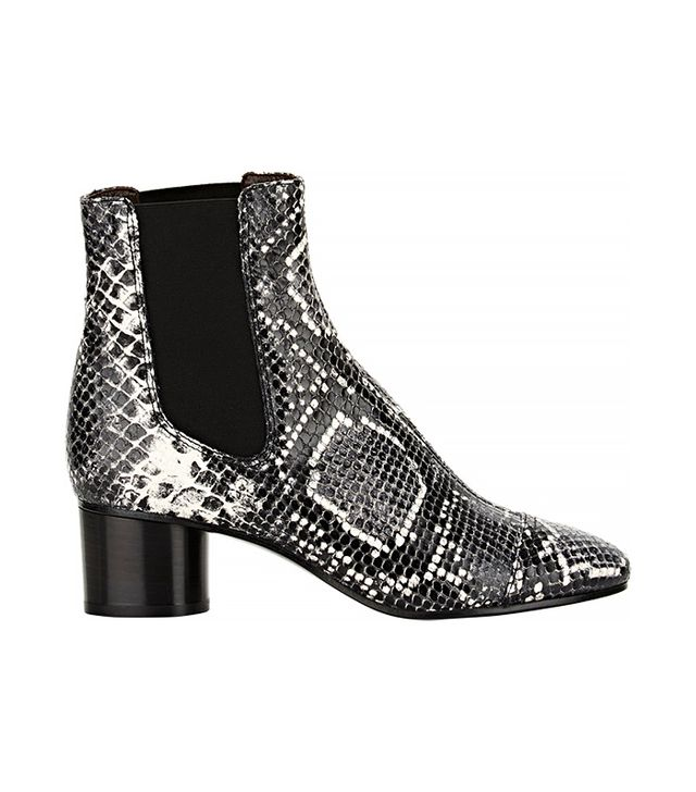 Isabel Marant Ètoile Python-Stamped Danae Boots