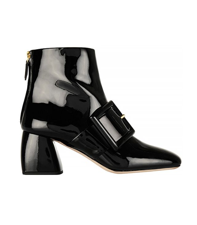 Miu Miu Buckled Ankle Boots