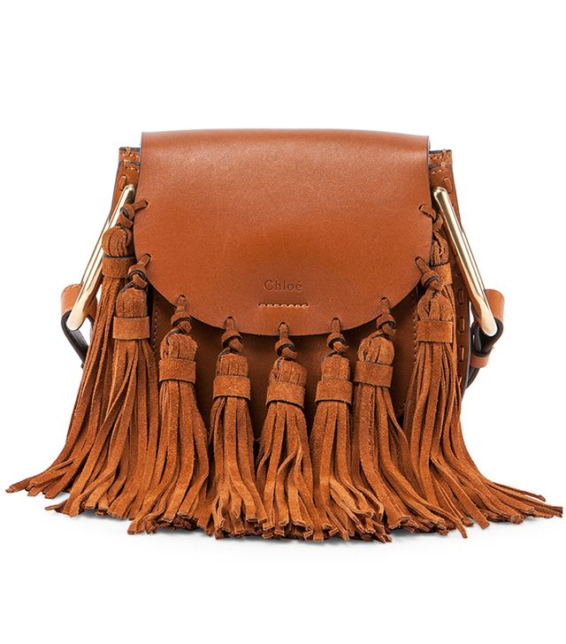 Chloé Hudson Mini Fringe Shoulder Bag