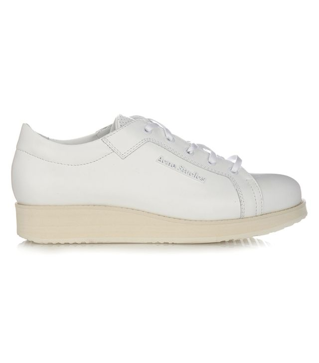 Acne Studios Kobe Low-Top Leather Trainers