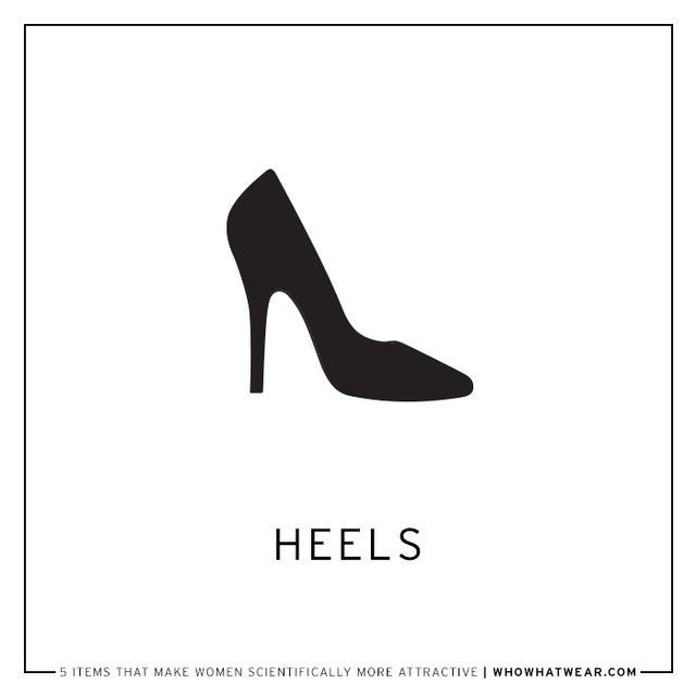 According to a study published in the journal Archives of Sexual Behavior, high heels increase a woman's attractiveness. The study also showed that women wearing heels have a higher chance of...