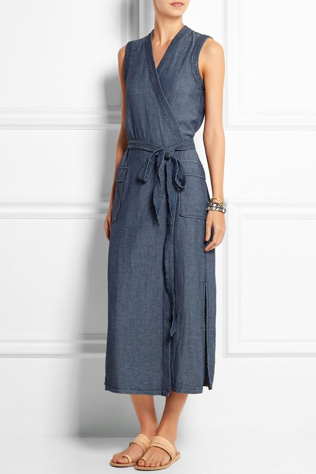 Madewell Denim Wrap Dress