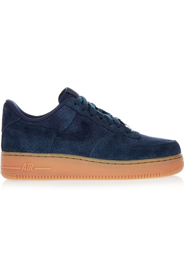 Nike Suede Air Force Ones