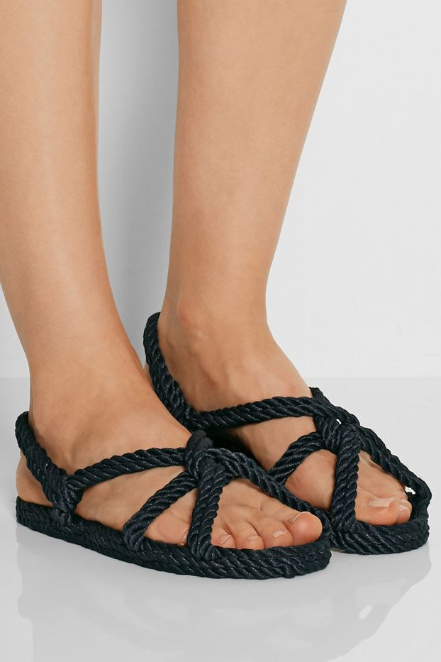 Toteme Gurkees Biot Rope Sandals
