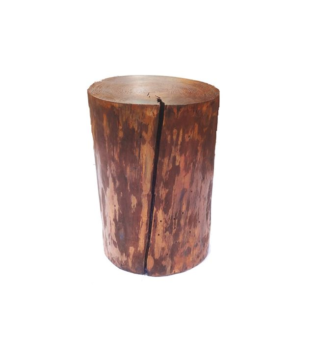Etsy Tree Stump End Table