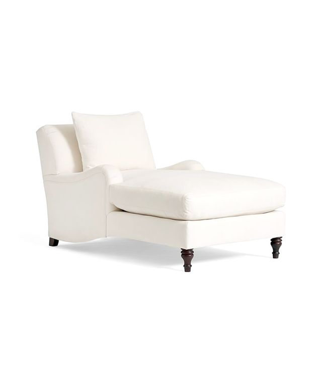 Pottery Barn Carlisle Upholstered Chaise