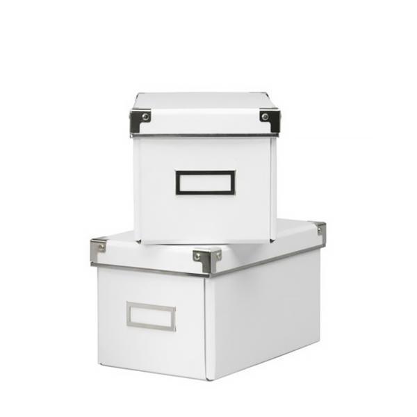 Ikea Kassett White Boxes