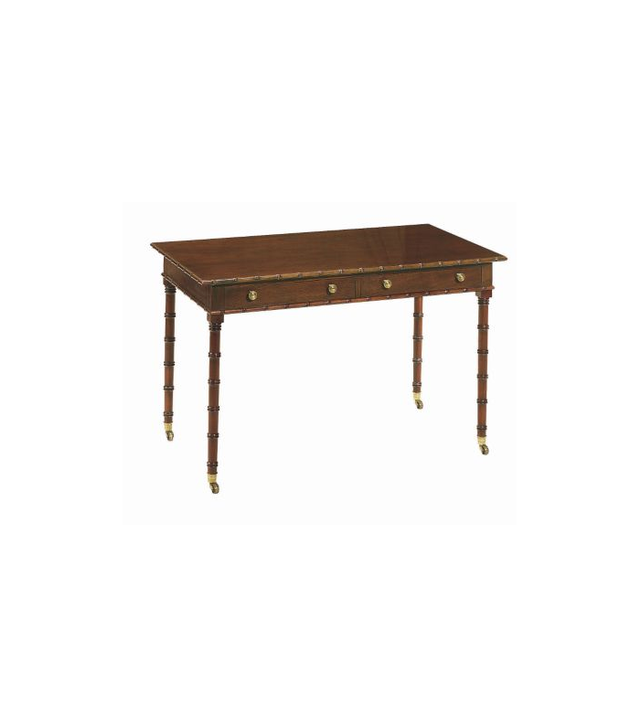 Mark Hampton for Hickory Chair Regency Bamboo Writing Table