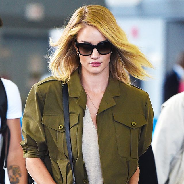 A Celebrity Guide to Wearing the Military Trend