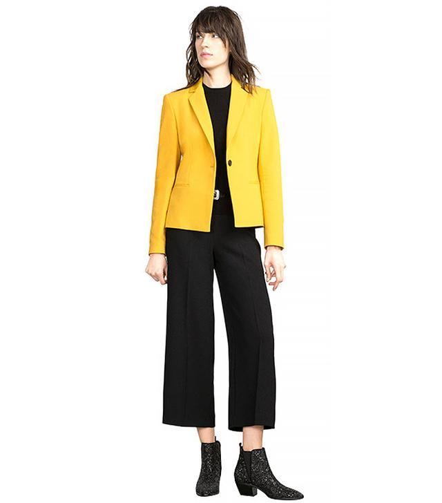 Zara Double Fabric Blazer