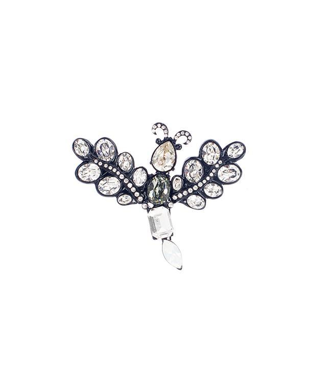 Oscar de la Renta Swarovski Crystal Bug Brooch