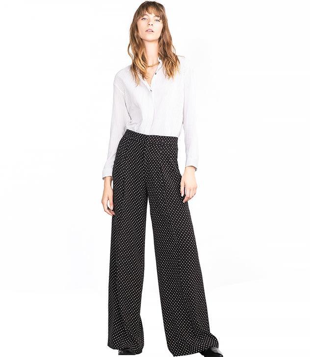 Zara Polka Dot Trousers