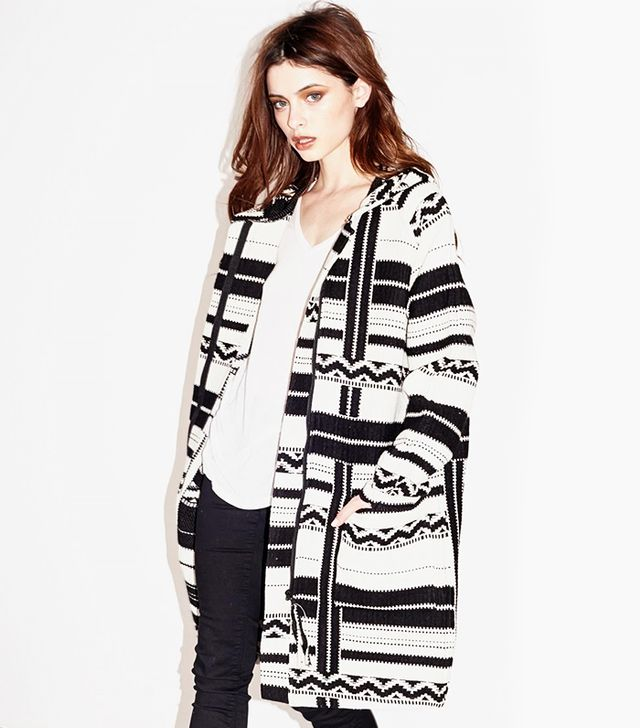 Capulet Hooded Overcoat