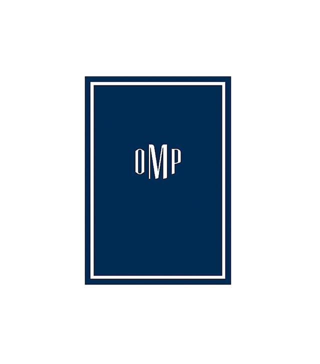 Paper Source 2016 Monogram Custom Planner