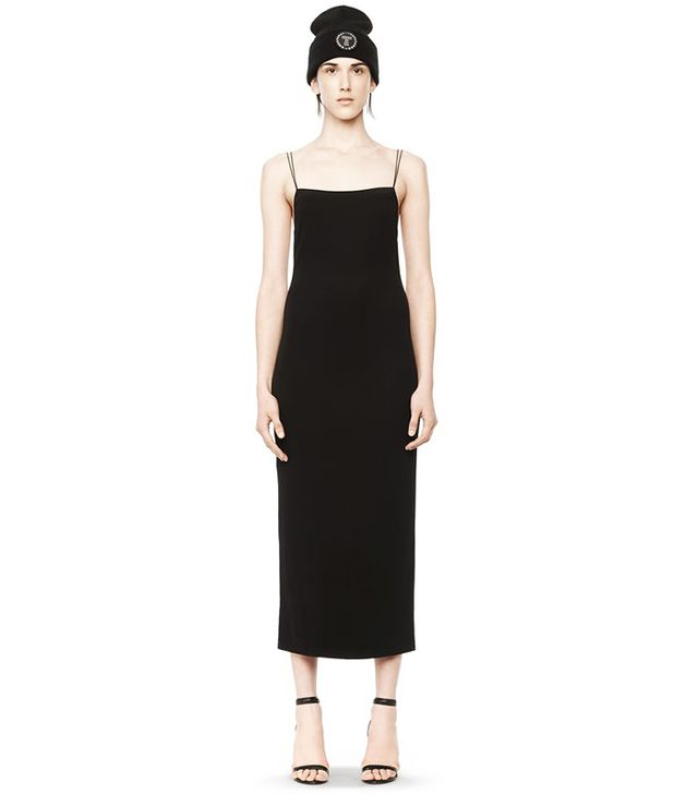 Alexander Wang Matte Jersey Backless Dress