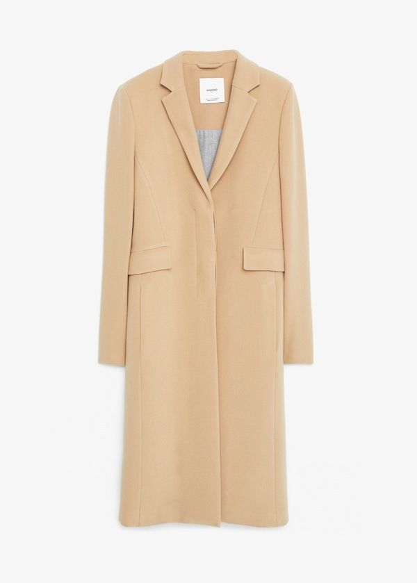 Mango Pocket Shift Coat