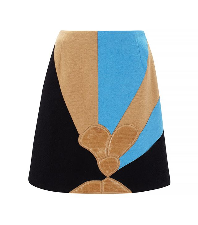 J.W. Anderson Pencil Skirt with Flower Emboss