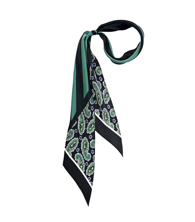 Rockins Super-Skinny Scarf in Paisley Eyes