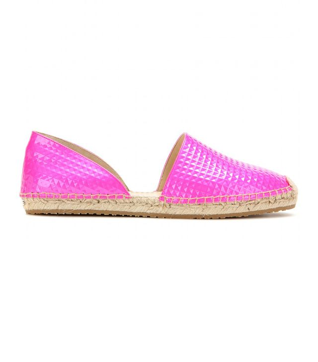 Jimmy Choo Dreya Patent Leather Espadrilles