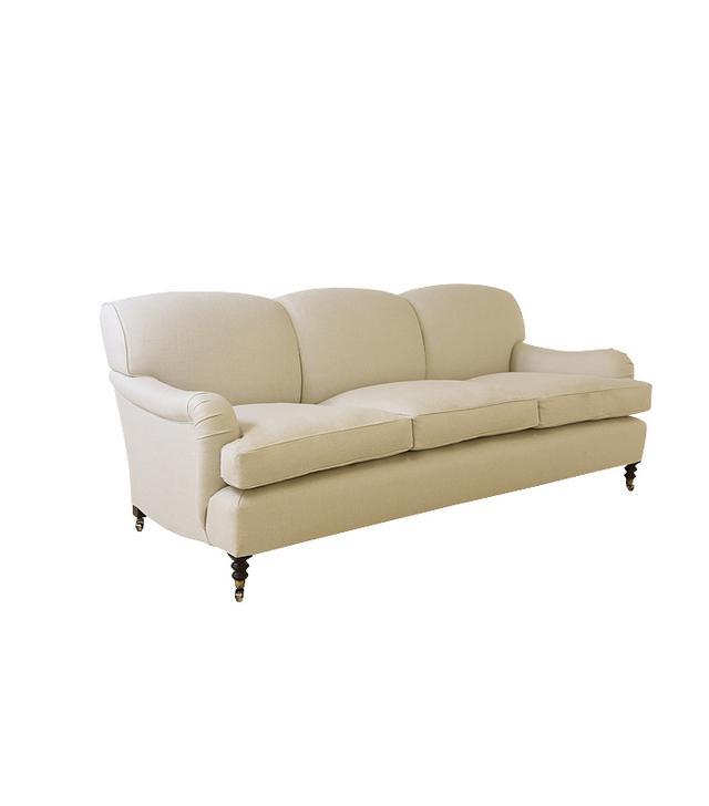 George Smith 7'0 Medium Standard Arm Sofa