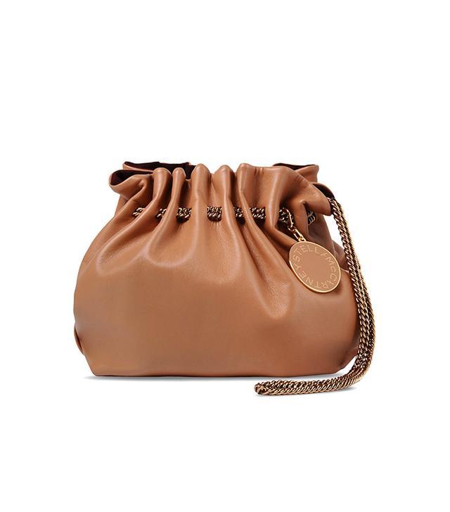 Stella McCartney Camel Noma Bucket Bag