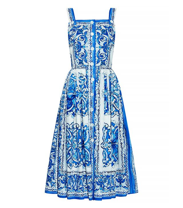 Dolce & Gabbana Majolica-Print Dress