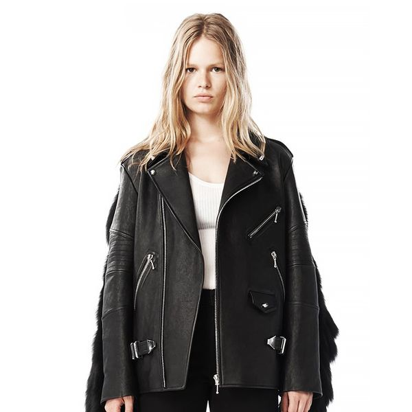 Alexander Wang Fall 2009 Leather Moto Jacket