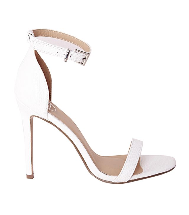 Missguided Barely There Strappy Heeled Sandals