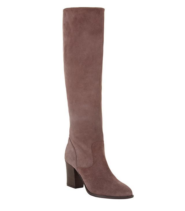 John Lewis Sheena Long Suede Knee High Boots