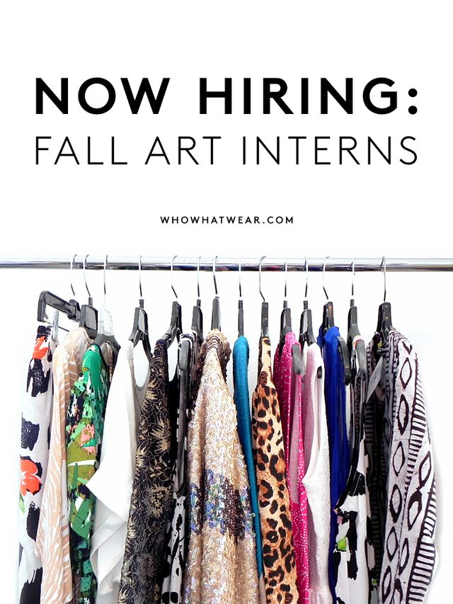 We're Hiring: Who What Wear Art Interns