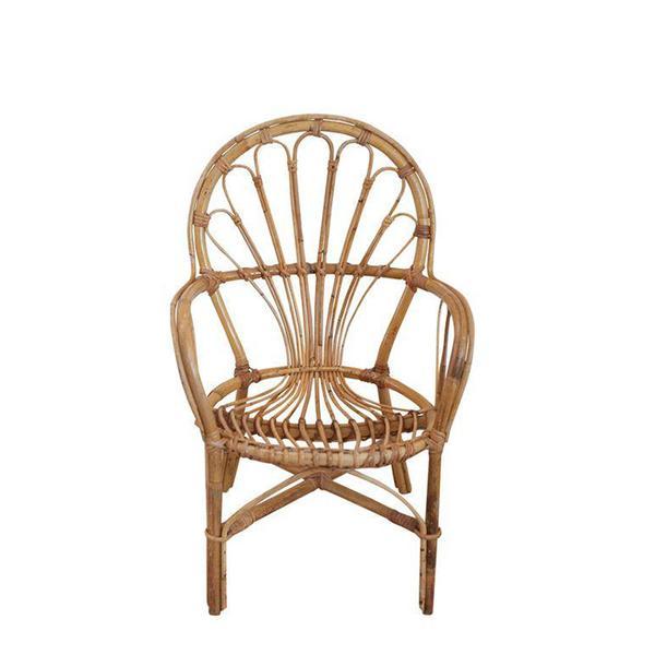 Chairish Franco Albini Style Rattan Child's Chair