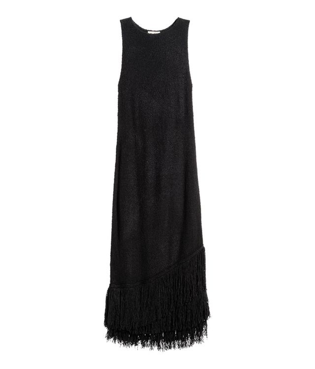 H&M Fringe Trim Dress
