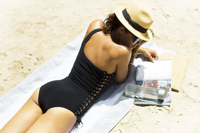 Hit the beach.