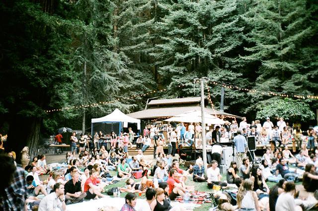 Catch an outdoor concert.